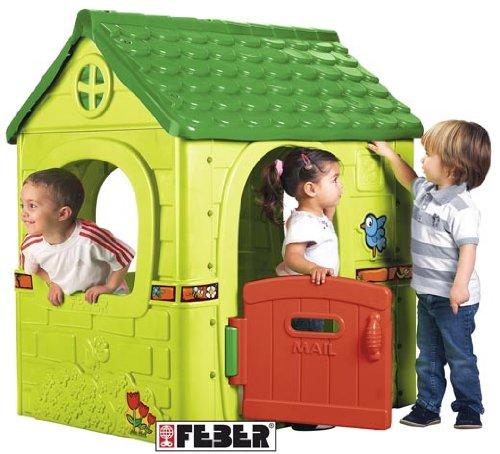 Achat feber 800008570 maison de jardin fantasy house - Cabane jardin feber strasbourg ...