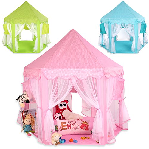 achat kiduku tente de jeu pour enfants ch teau de princesse tente de jeu maison de jouet. Black Bedroom Furniture Sets. Home Design Ideas