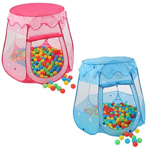 KIDUKU-tente-de-jeu-pour-enfants-100-balles-tui-de-transport-Rose-0