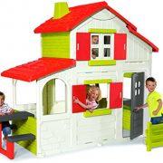 Smoby-320023-Maison-De-Jardin-Duplex-0-0