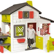 Smoby-310209-Jeu-de-Plein-Air-Maison-de-Jardin-Friends-House-Sonnette-Electronique-Incluse-0-0