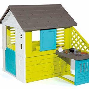 Smoby-810711-Maison-de-Jardin-Pretty-Cuisine-2-Fentres-17-Accessoires-0