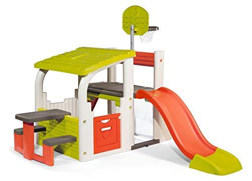 Smoby-840203-Jeu-Plein-Air-Air-de-Jeux-Fun-Center-Toboggan-Multi-Activits-0
