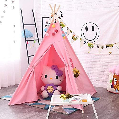 AllRight-Tipi-Enfant-Intrieur-Jeu-Tente-Maison-Jardin-pour-Enfants-Fille-0