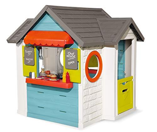 Smoby-Chef-House-Maison-de-Jardin-810403-Bleu-0