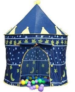 Tente-de-jeu-pour-enfant-Chteau-de-prince-ou-princesse-Idal-en-extrieur-et-en-intrieur-Jardin-Plage-Fille-et-Garon-0