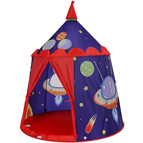 SONGMICS-Tente-de-Jeu-Chteau-pour-Enfant-Maison-de-Jeu-Intrieure-et-Extrieure-Portatif-avec-Sac-de-Transport-Cadeau-Certifie-par-EN71-Bleu-LPT01BU-0